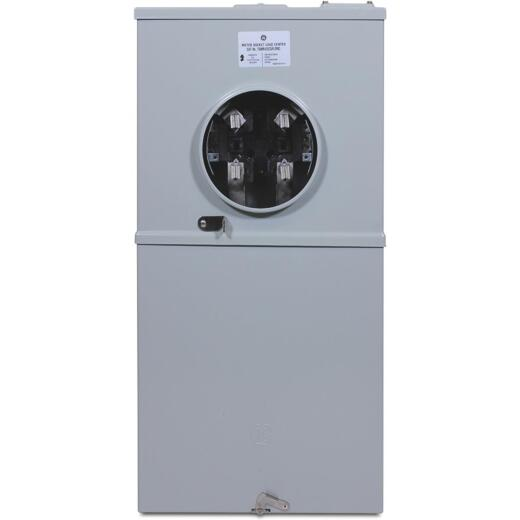GE 200A 4-Space 8-Circuit Outdoor Load Center