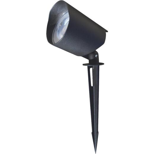 Stonepoint LED Lighting Black Metal 200-Lumen Landscape Stake Light