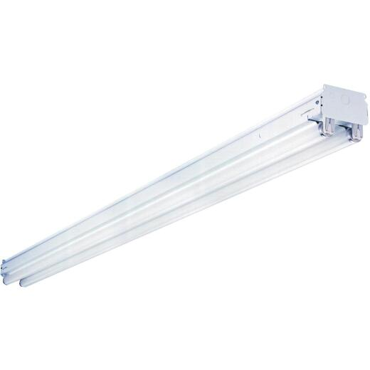 Lithonia 8 Ft. 2-Bulb Fluorescent T12 Commercial Strip Light Fixture