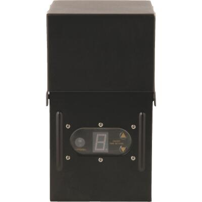 Moonrays 200W Black Low Voltage Control Box with Digital Photocell