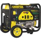 Champion 5500W Dual Fuel Portable Generator with Wheel Kit (California Compliant) Image 1