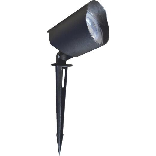 Stonepoint LED Lighting Black Metal 400-Lumen Landscape Stake Light