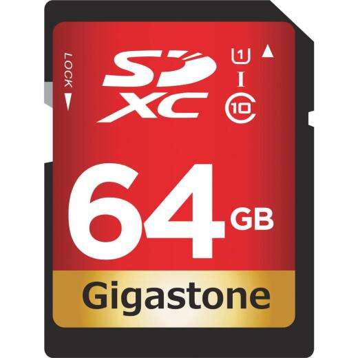 Gigastone Prime Series 64 GB SDHC Card