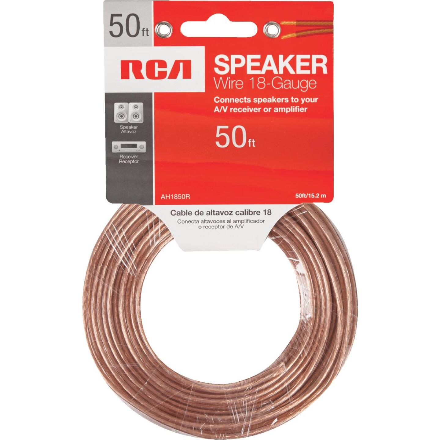 RCA 50 Ft. 18-2 Stranded Speaker Wire Image 2