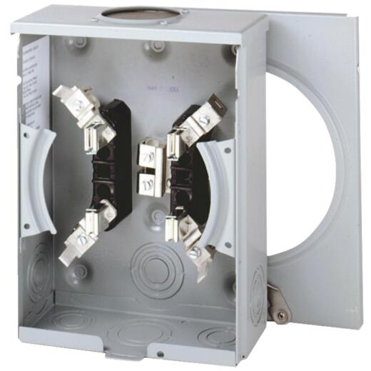 Eaton 100A 600V 4-Jaw 3-Wire Meter Socket