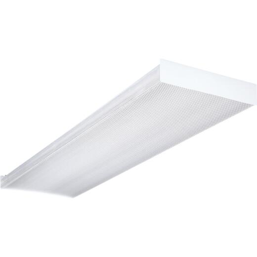Lithonia 4 Ft. 4-Bulb Fluorescent Wraparound Light Fixture