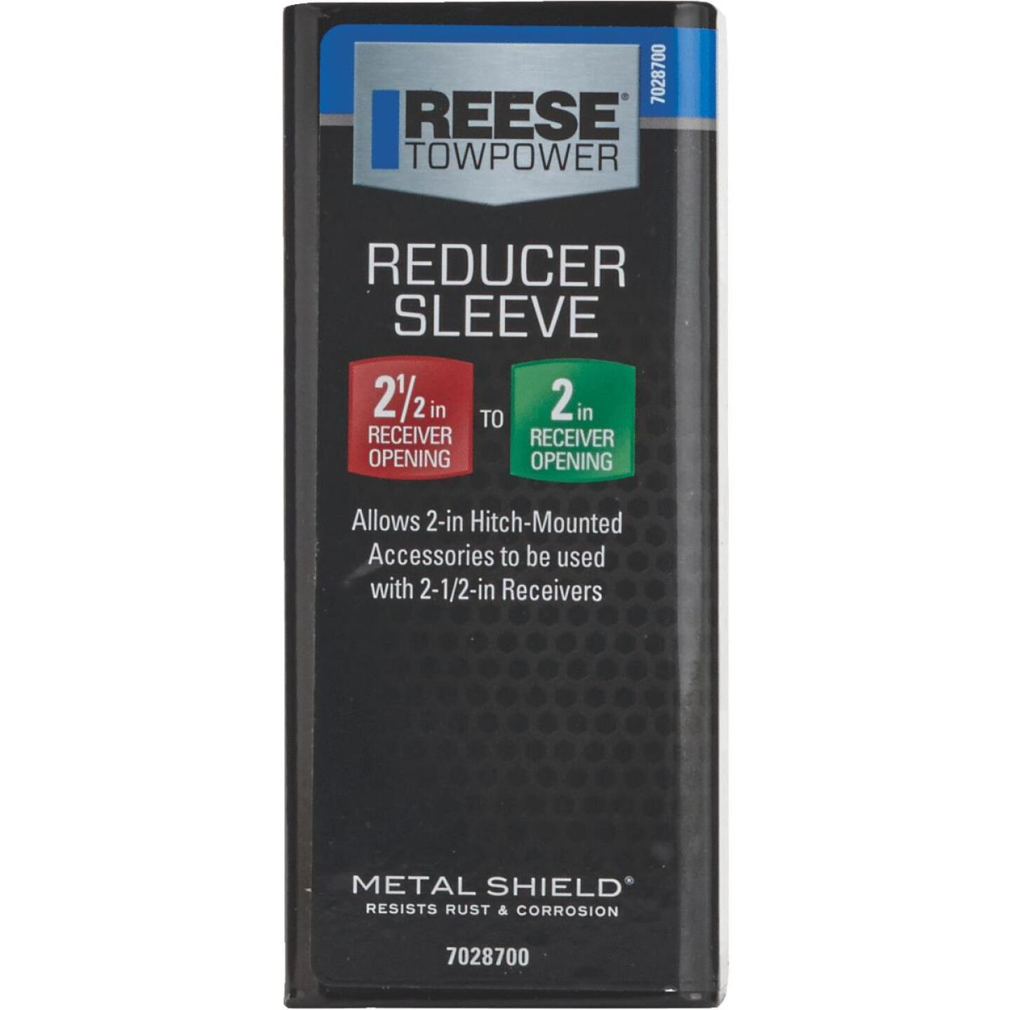 Reese Towpower Reducer Sleeve Receiver Adapter Image 1