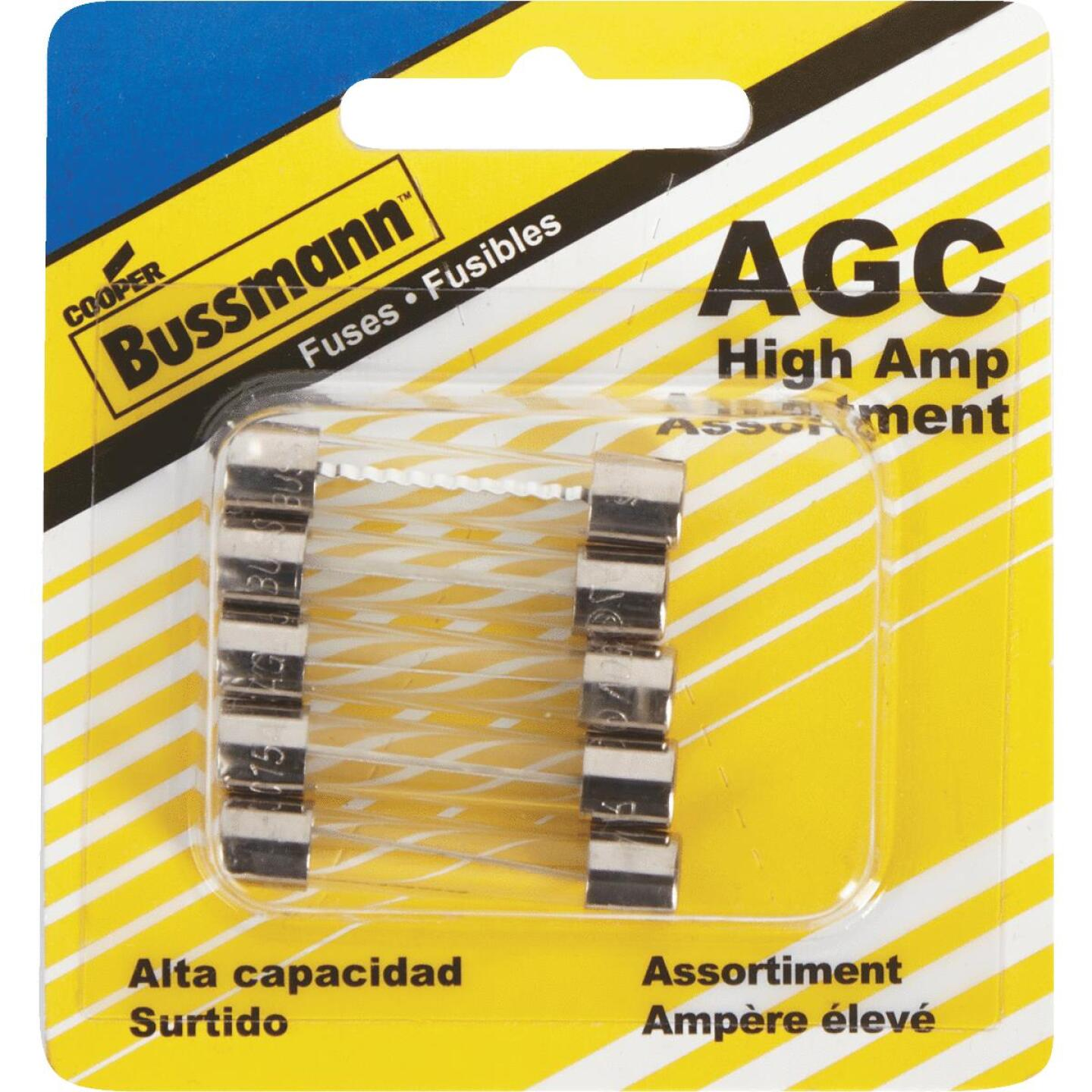 Bussmann AGC Glass Tube Fuse Assortment (5-Pack) Image 3