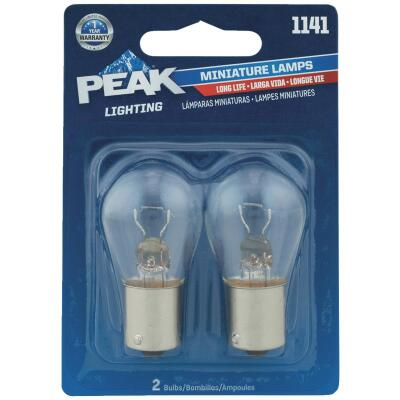 PEAK 1141 12.8V Mini Incandescent Automotive Bulb (2-Pack)