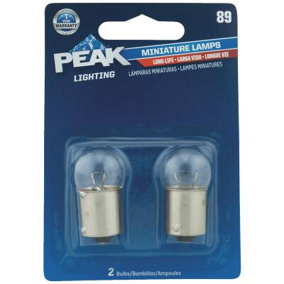 PEAK 89 13V Mini Incandescent Automotive Bulb (2-Pack)