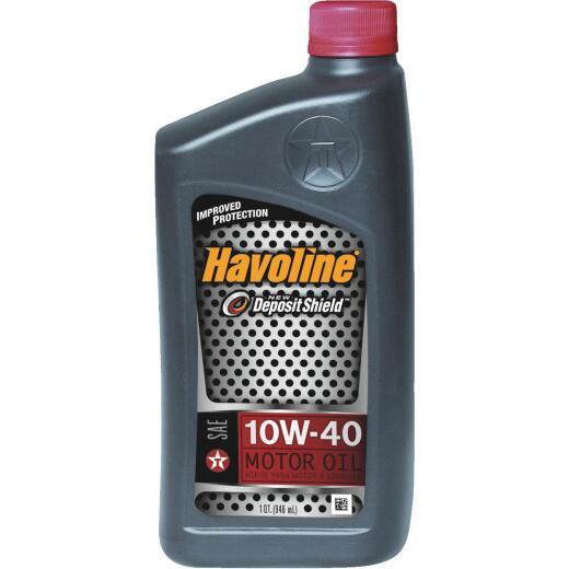 Havoline 10W40 Quart Motor Oil