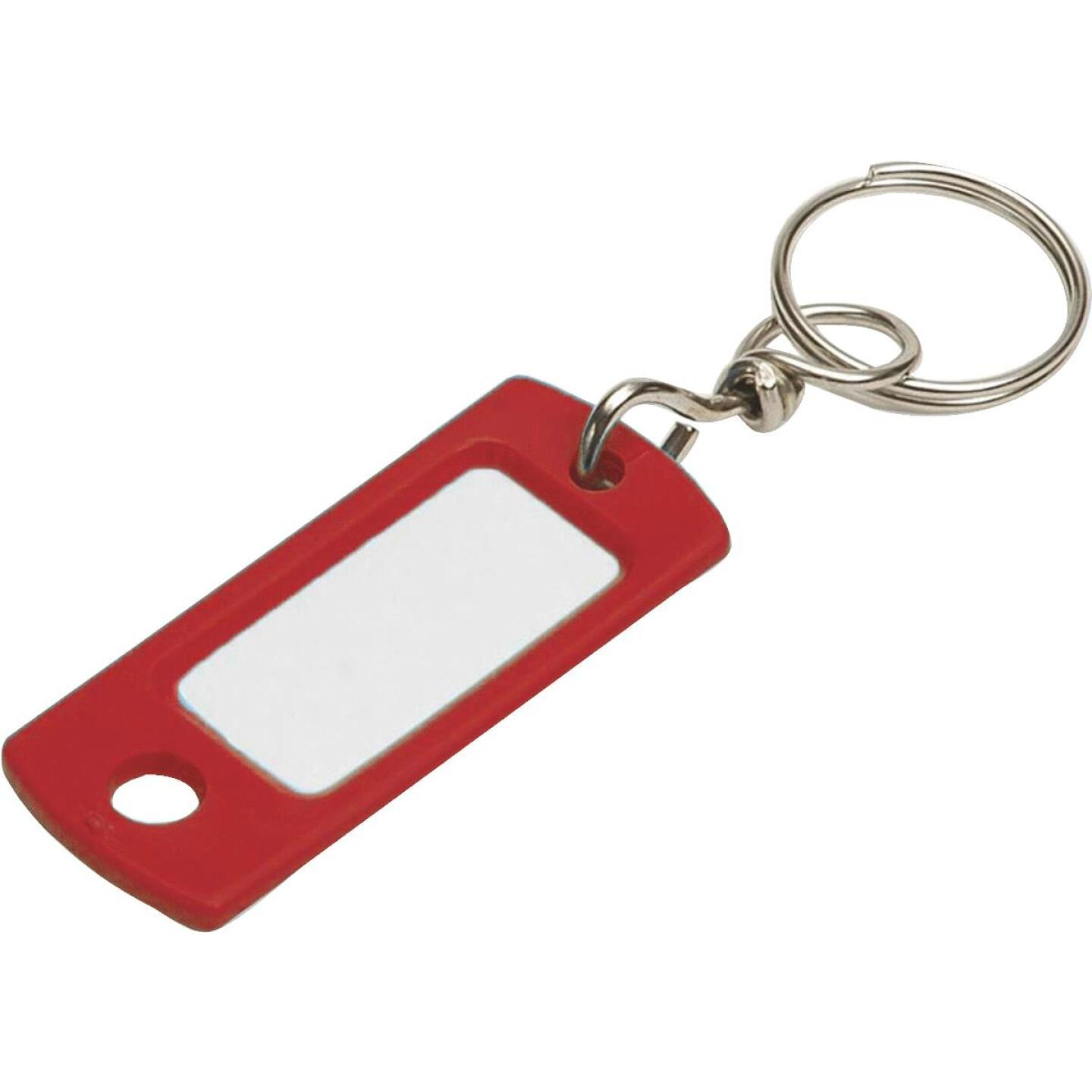 Lucky Line Flexible Swivel Plastic Tag 2 In. I.D. Key Tag, (2-Pack) Image 1