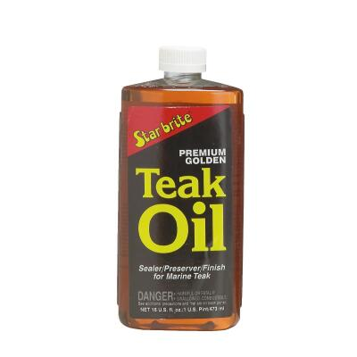 Starbrite 1 Pt. Premium Golden Teak Oil Finish
