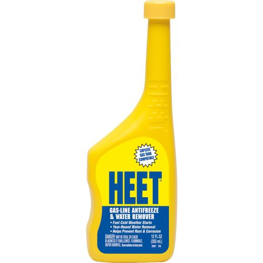 Heet 12 oz Antifreeze, Gas and Water Remover