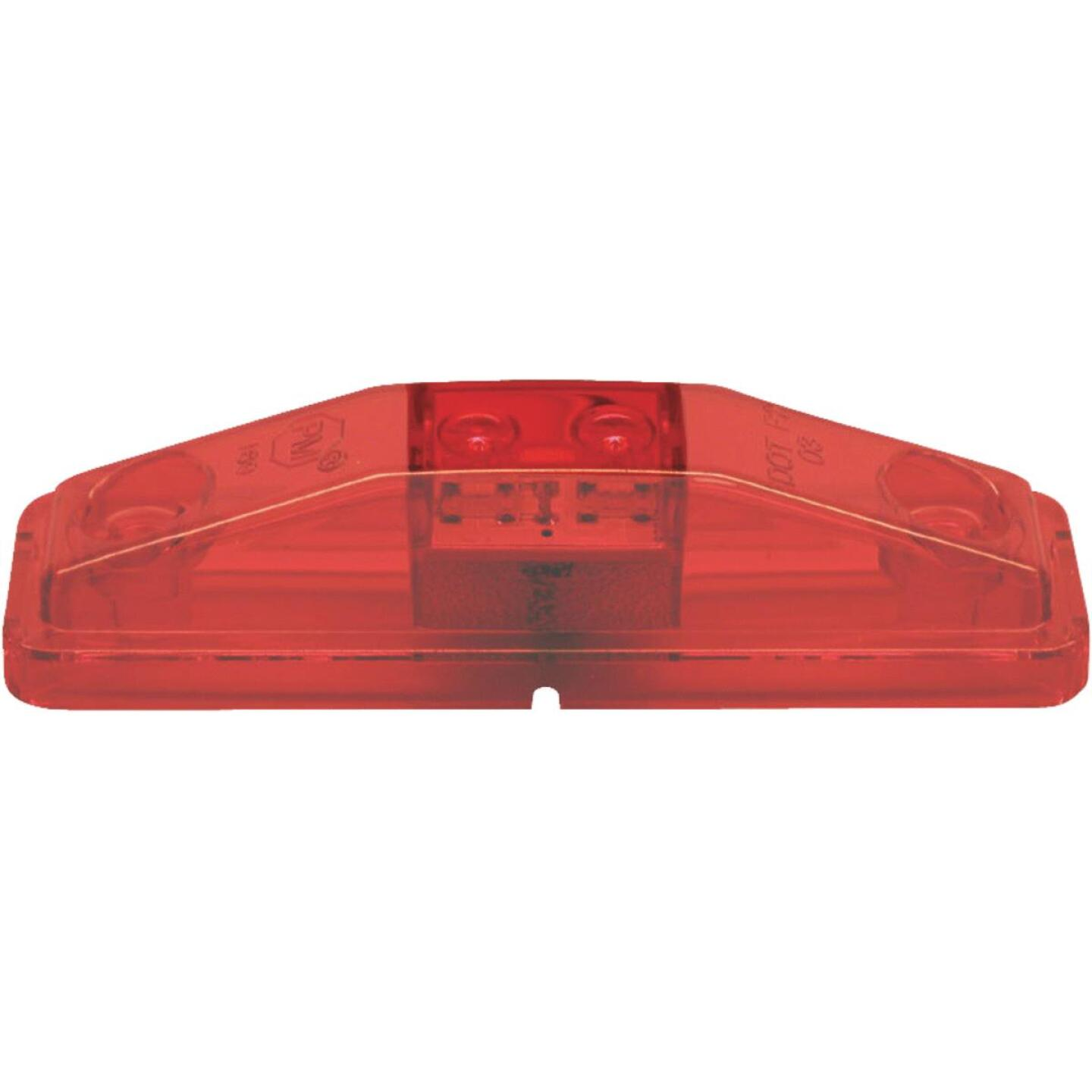 Peterson Rectangle Red Clearance Light Image 1
