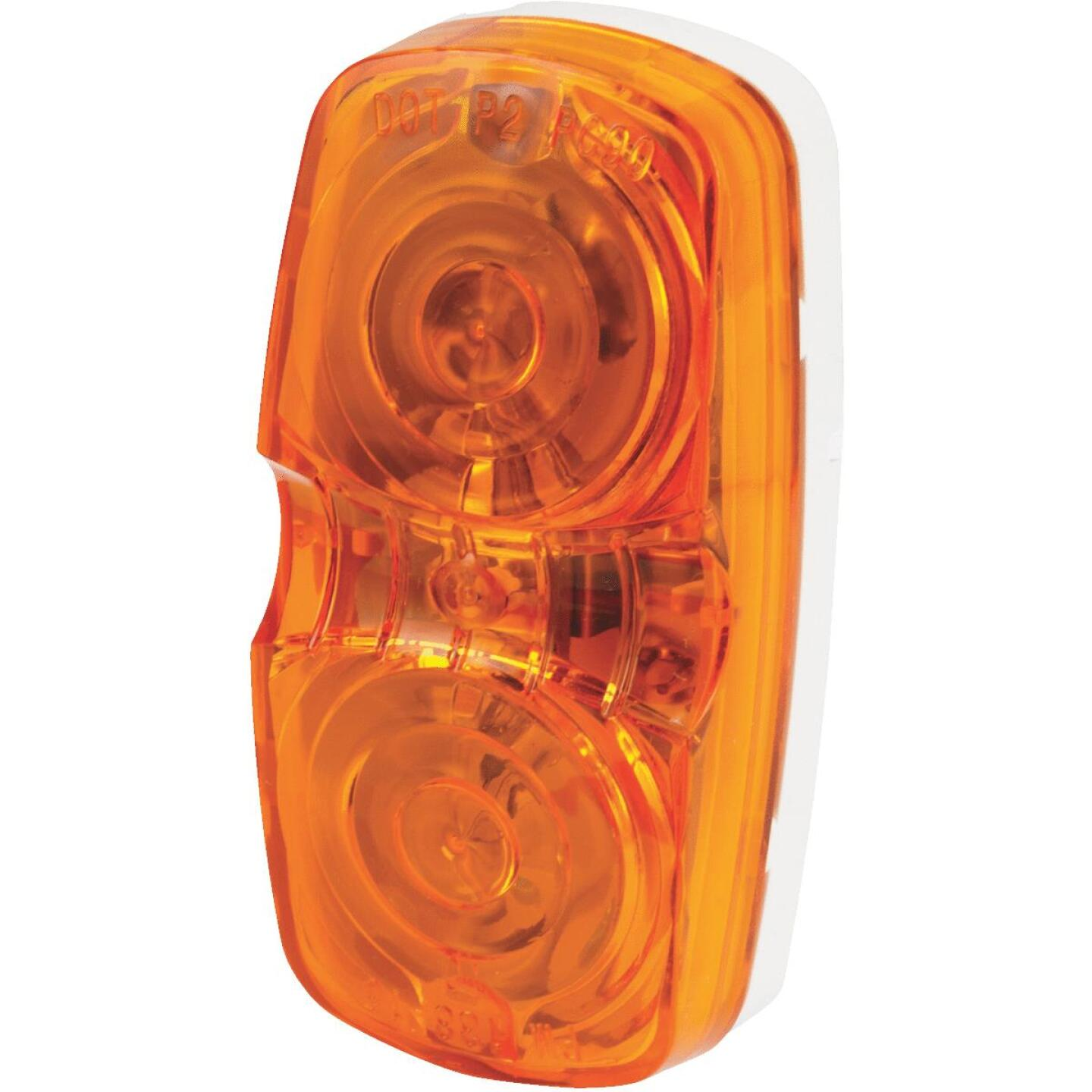 Peterson Low-Profile 12 V. Amber Clearance Light Image 2