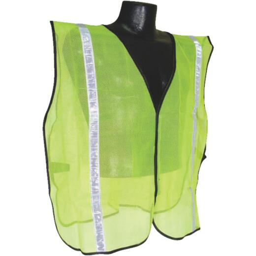 Radians Rad Wear Hi-Vis Green Safety Vest 1 Size Fits All