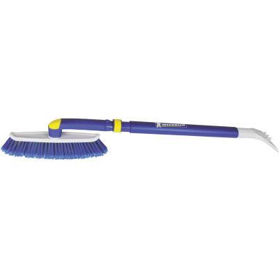 Michelin 50 In. Steel Hybrid Telescopic Snowbrush with Ice Scraper