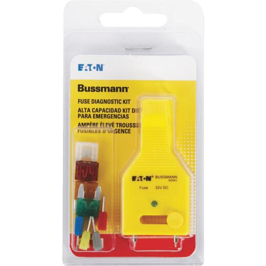 Bussmann ATM Fuse Assortment with Diagnostic Tester/Puller