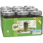 Ball 1.5 Pint Wide Mouth Mason Canning Jar (9-Count) Image 2