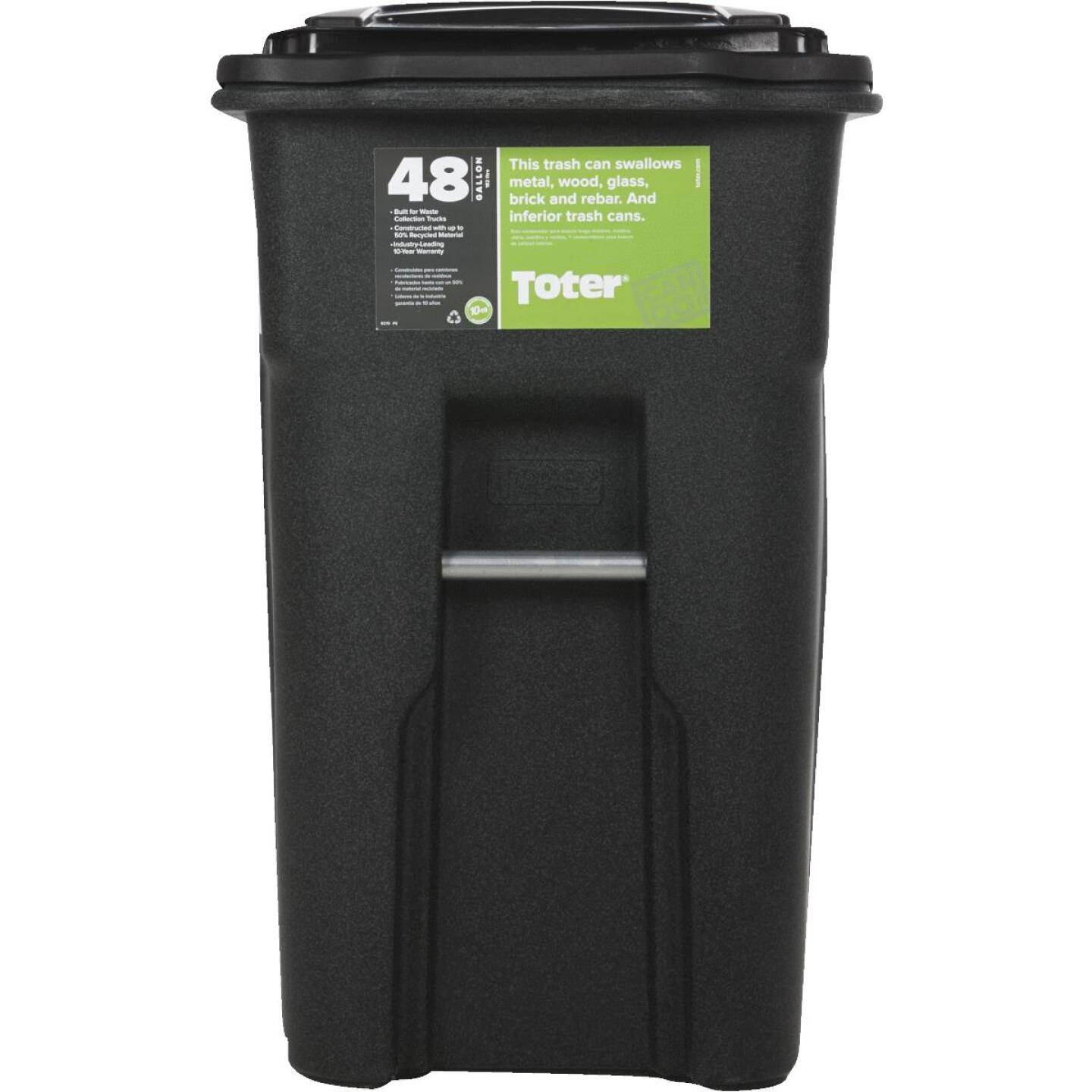 Toter 48 Gal. Commercial Trash Can Image 2