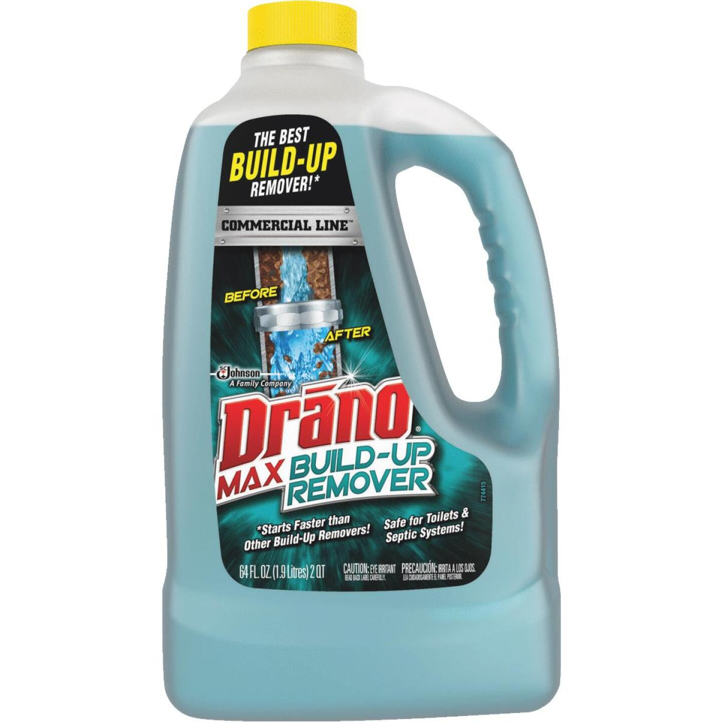 Drano Max 64 Oz. Commercial Line Build Up Remover  Image 1