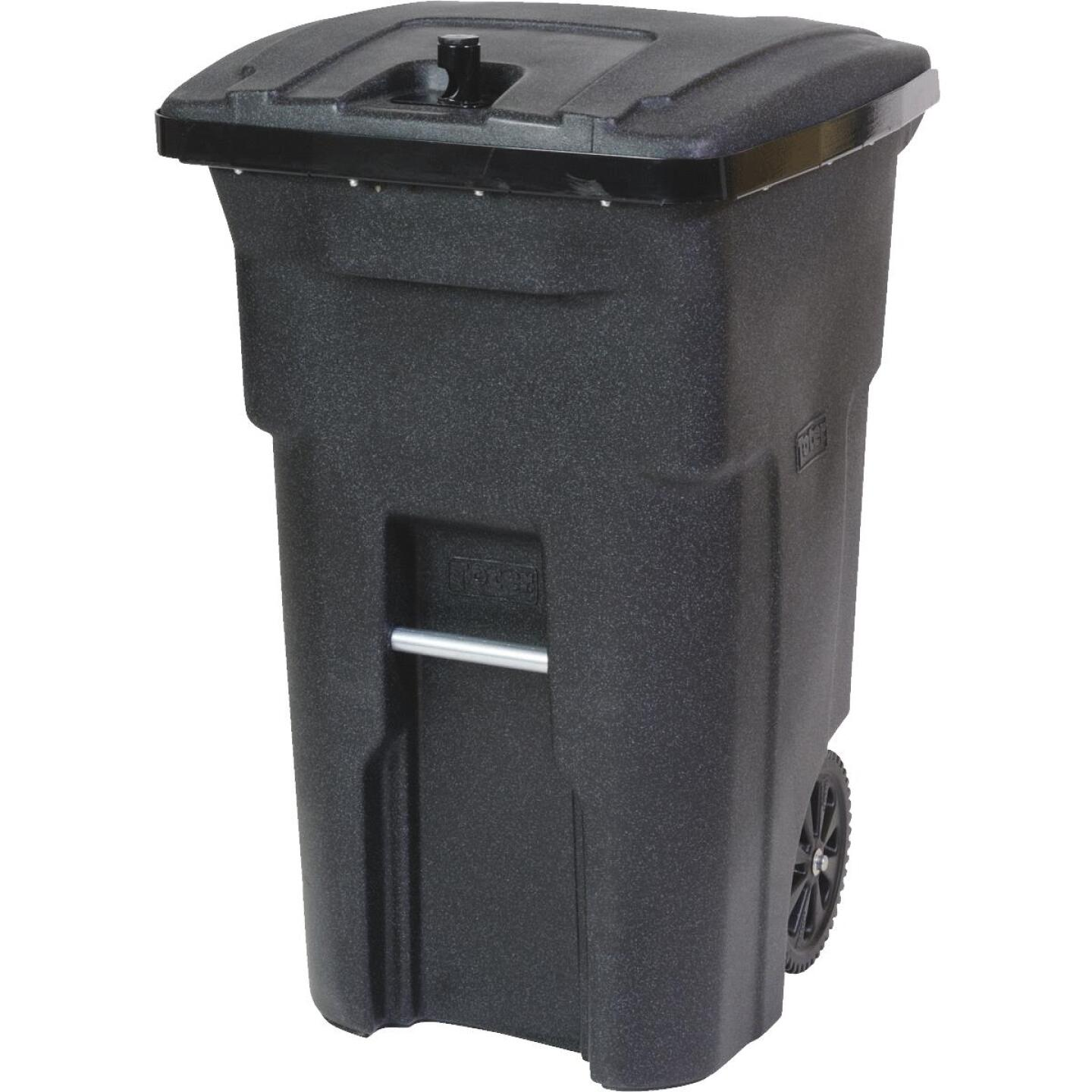 Toter 64 Gal. 2-Wheel Bear Tight Commercial Trash Can Image 1