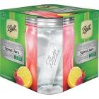 Ball Collection Elite 28 Oz. Wide Mouth Spiral Canning Jar (4-Count) Image 1