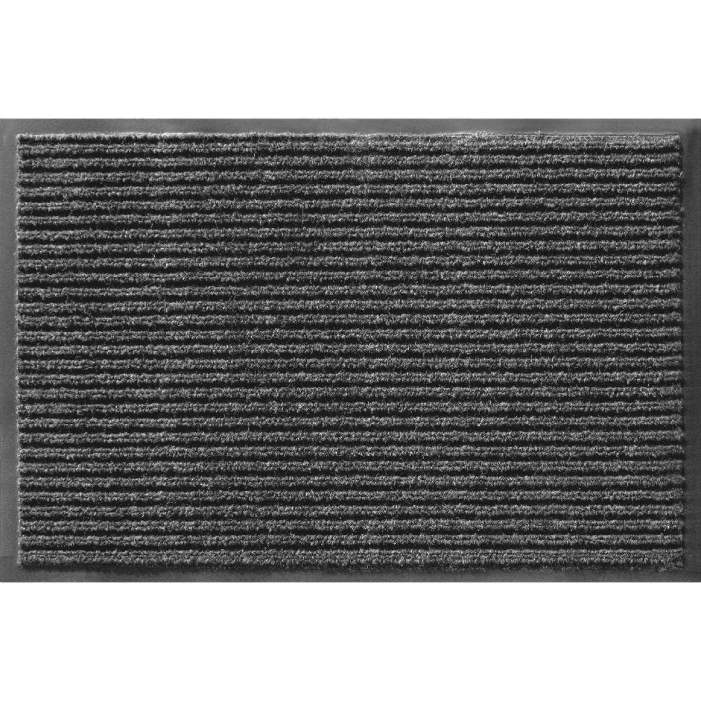Apache Enviroback Pepper 24 In. x 36 In. Carpet/Recycled Rubber Door Mat Image 1