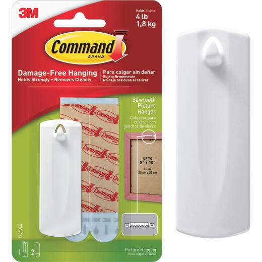 Command Sawtooth Adhesive Picture Hanger