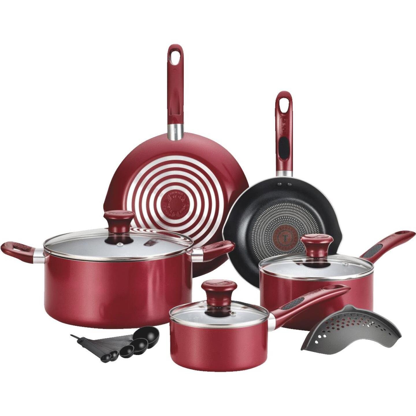T-Fal Thermo-Spot Non-Stick Aluminum Cookware Set (14-piece) Image 1