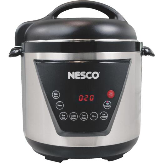 Nesco 6 Qt. Stainless Steel Multi-Function Premium Pressure Cooker