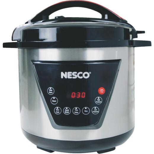 Nesco 8 Qt. Stainless Steel Multi-Function Pressure Cooker