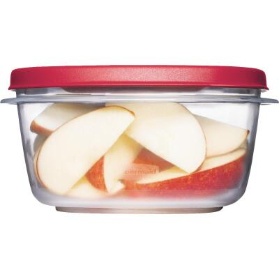 Rubbermaid Easy Find Lids 5 C. Clear Round Food Storage Container