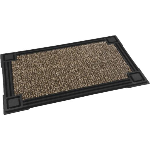 GrassWorx Clean Machine Premium Sandbar 18 In. x 30 In. AstroTurf Door Mat