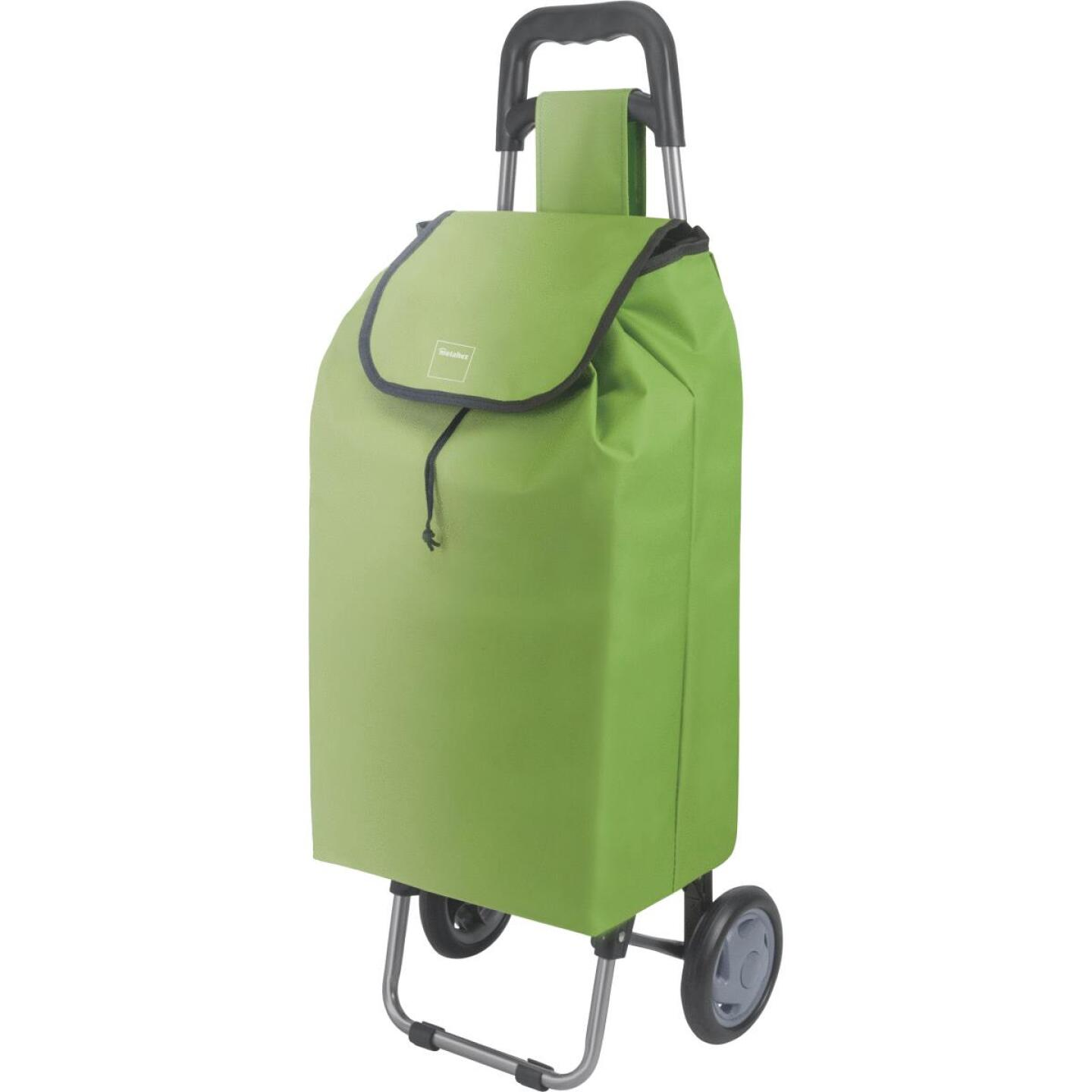 Metaltex Green 13 In. x 37 In. x 9 In. Soft Sided Tote Utility Cart Image 1