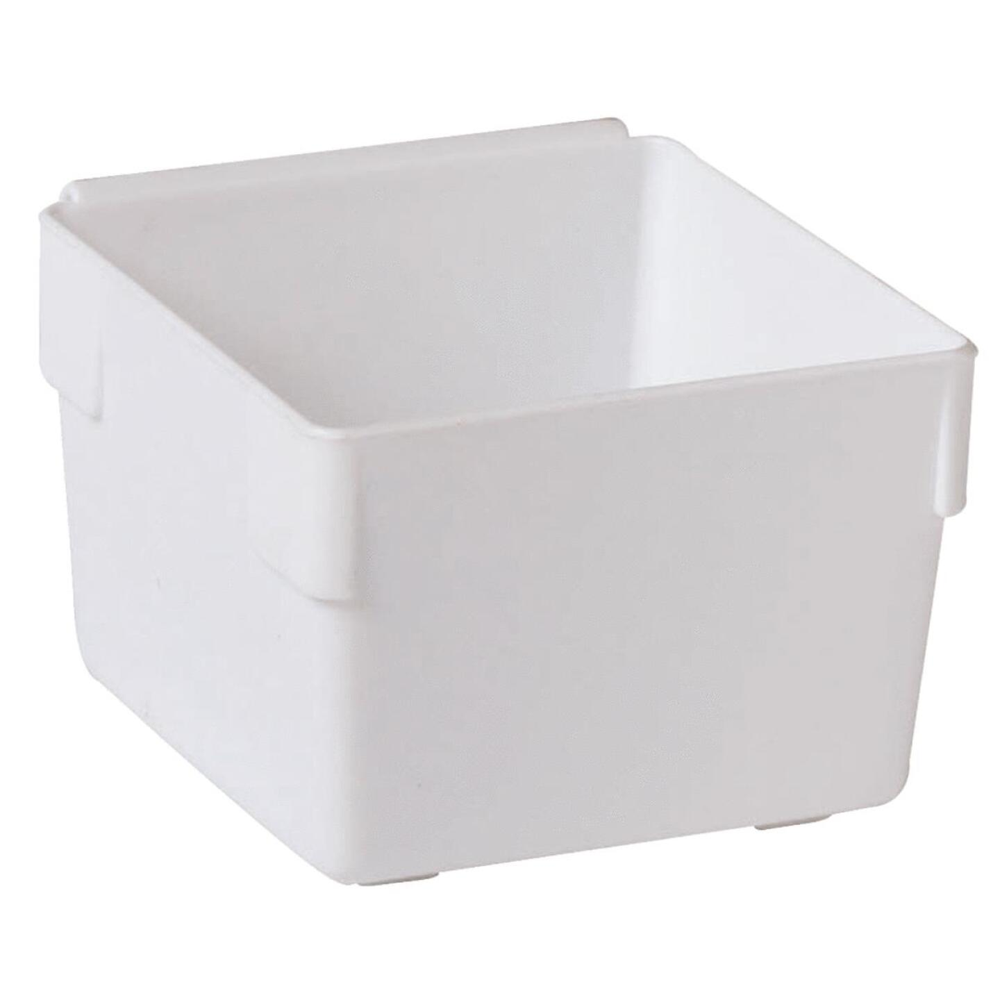 Rubbermaid 3 In. x 3 In. x 2 In. White Drawer Organizer Tray Image 4