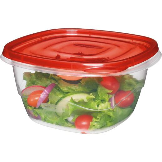 Rubbermaid TakeAlongs 5.2 C. Clear Square Food Storage Container with Lids (4-Pack)