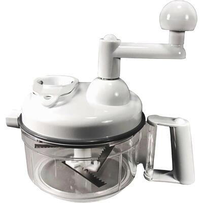 Weston 6 Cup Manual Kitchen Chopper & Mixer Kit