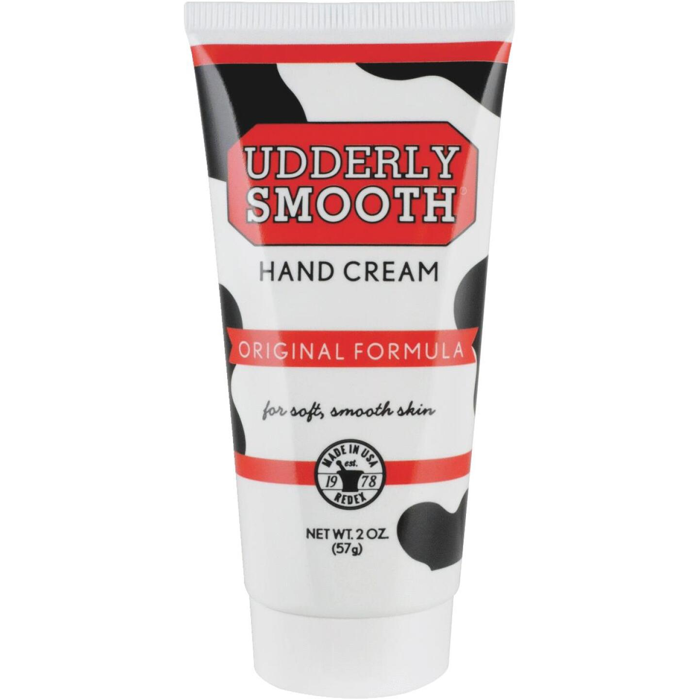 Udderly Smooth 2 Oz. Tube Udder Cream Lotion Image 1