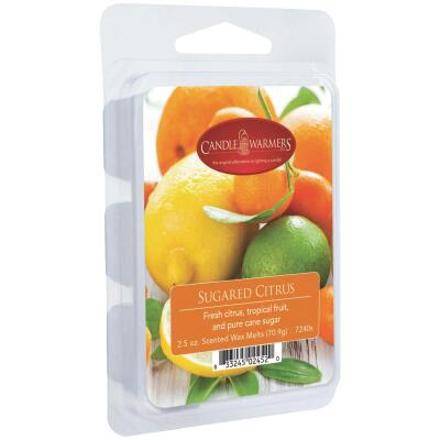 Candle Warmers 2.5 Oz. Sugared Citrus Wax Melt