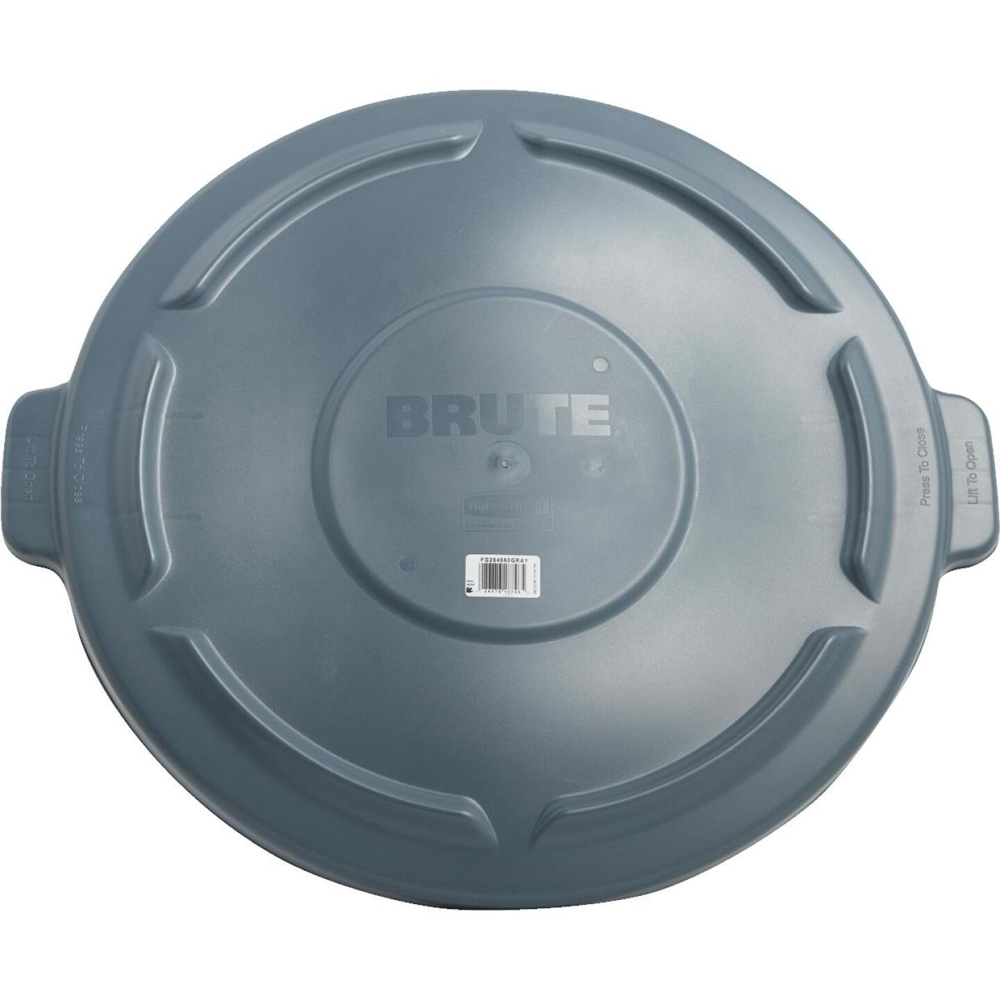 Rubbermaid Commercial Brute Gray Trash Can Lid for 44 Gal. Trash Can Image 2