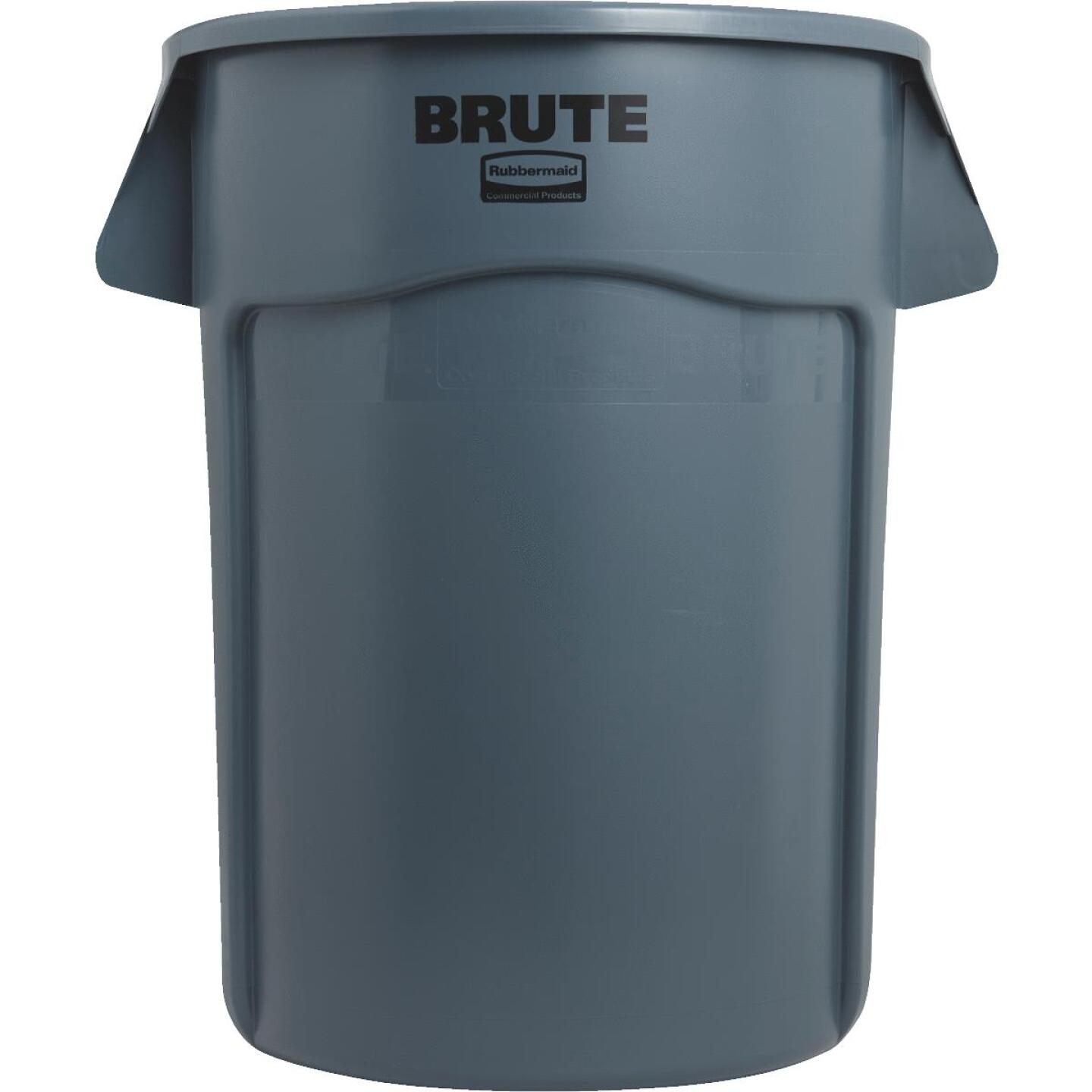 Rubbermaid Commercial Brute 44 Gal. Plastic Commercial Trash Can Image 2