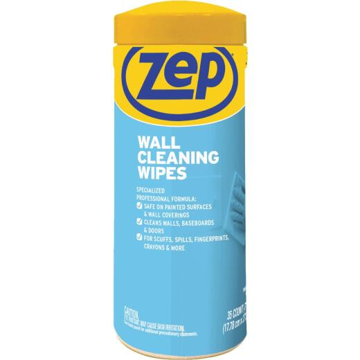 Zep Interior Wall Cleaning Wipes (35 Count)