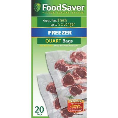 FoodSaver 1 Qt. Freezer Bag (20 Count)