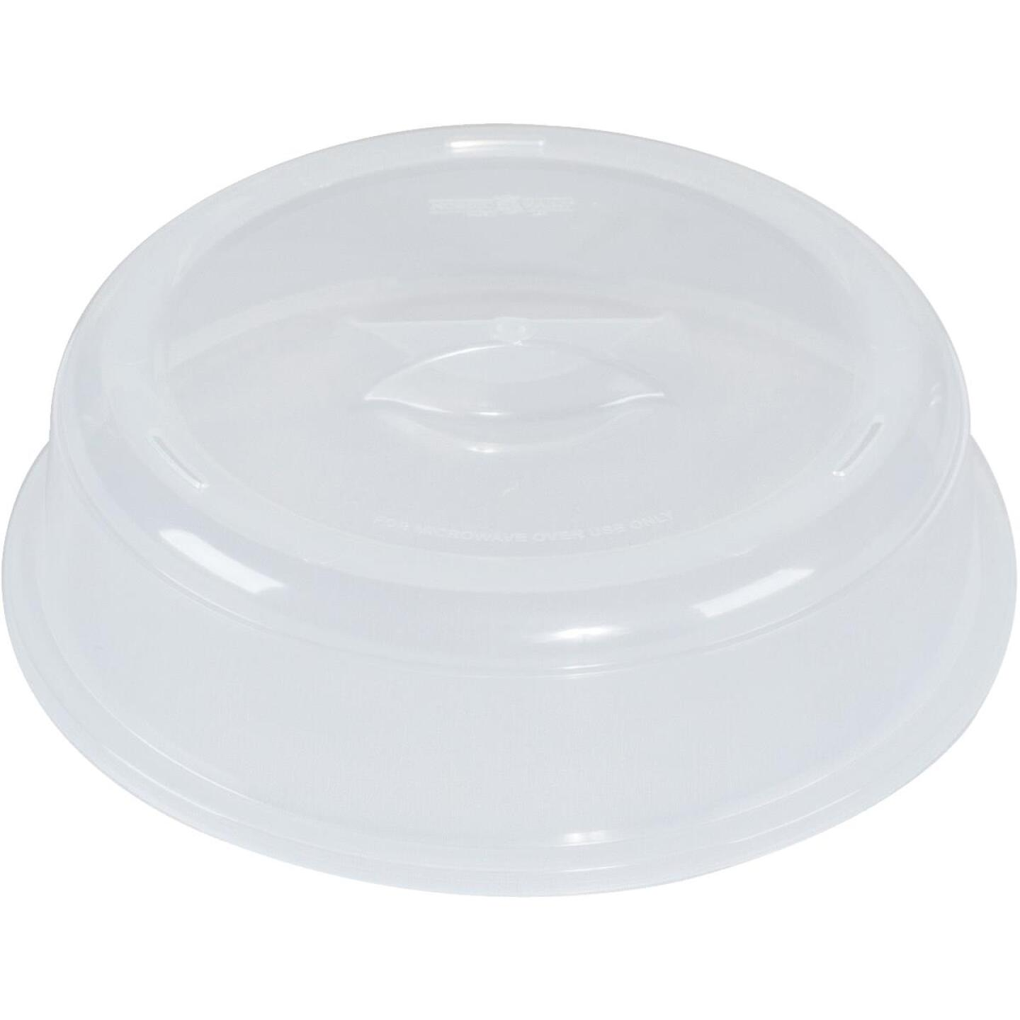 Nordic Ware 10.5 In. White Microwave Splatter Cover Image 1