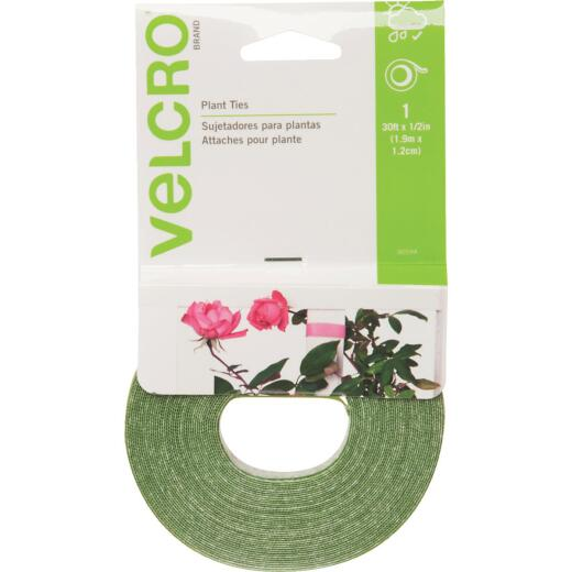 VELCRO Brand Green 30 Ft. Hook and Loop Plant Tie