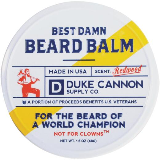 Duke Cannon 1.6 Oz. Redwood Beard Balm