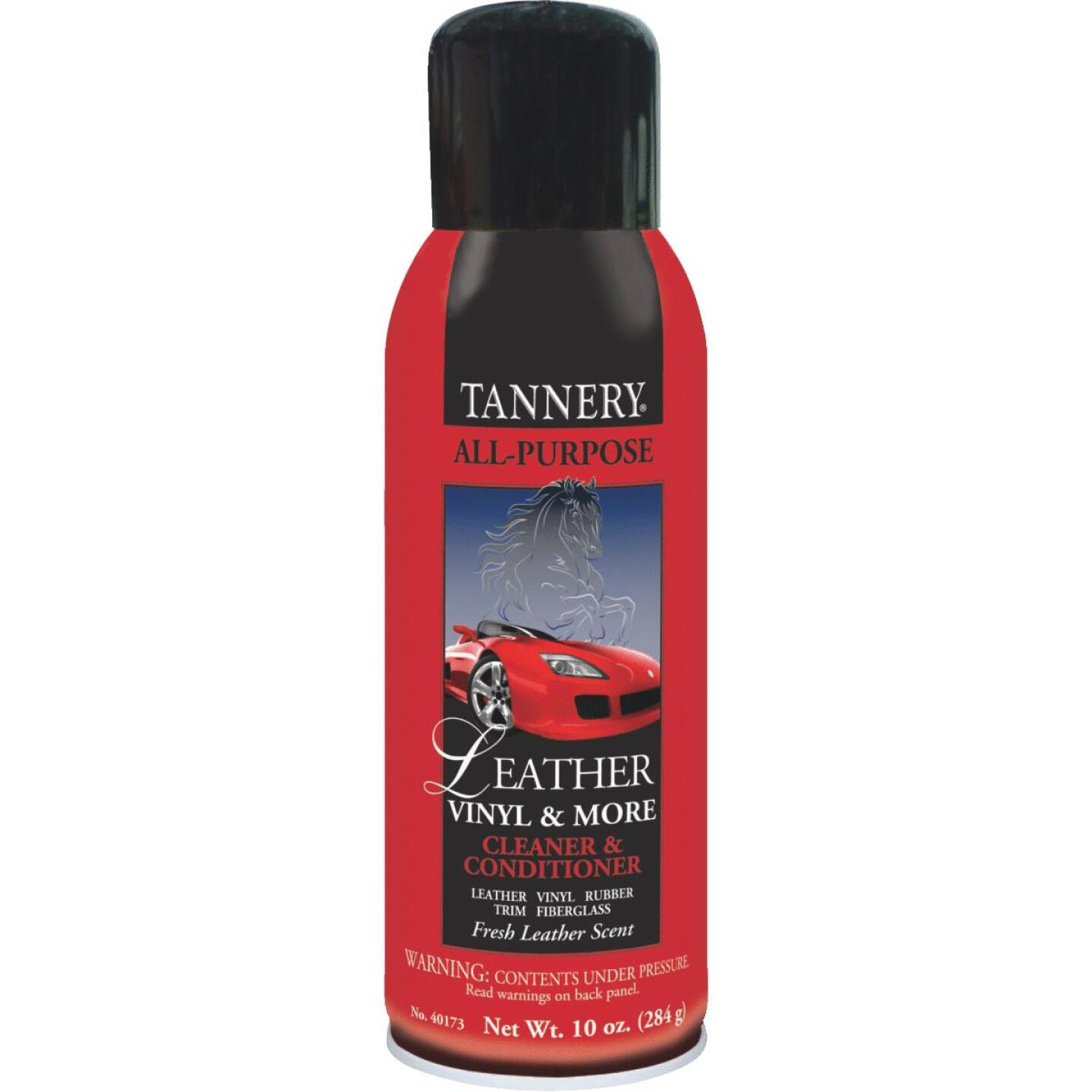 Tannery 10 Oz. Aerosol Spray All-Purpose Leather Care Cleaner & Conditioner Image 1