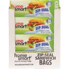 Home Smart Zip Seal Sandwich Bag (50-Count) Image 2